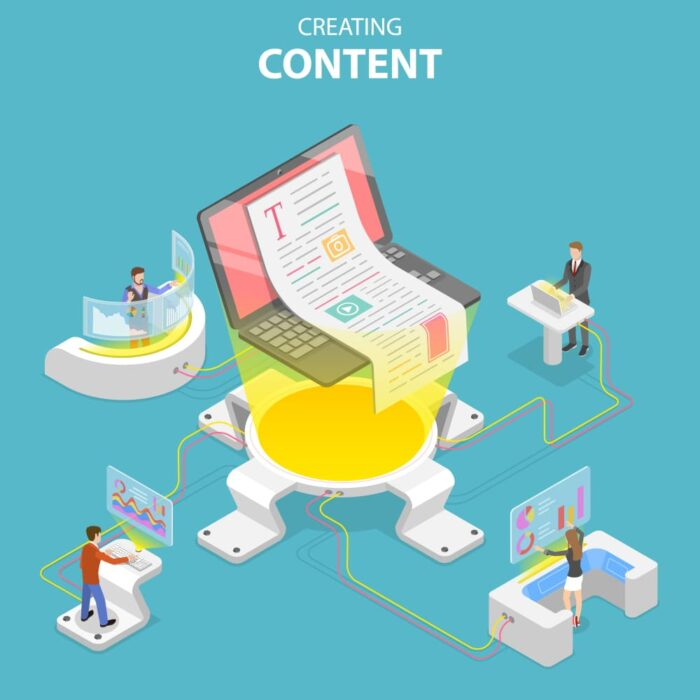 Создание, контент, копирайтинг