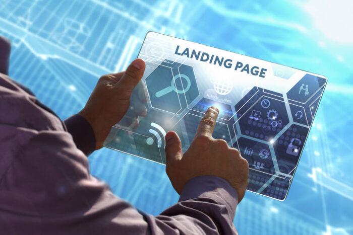 Посадочная страница, лендинг пейдж, создание, разработка