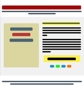 Лендинг, схема, картинка, создание, разработка, посадочная страница