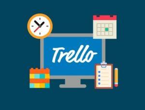Логотип сервиса Trello, организация работы и досуга с помощью Trello